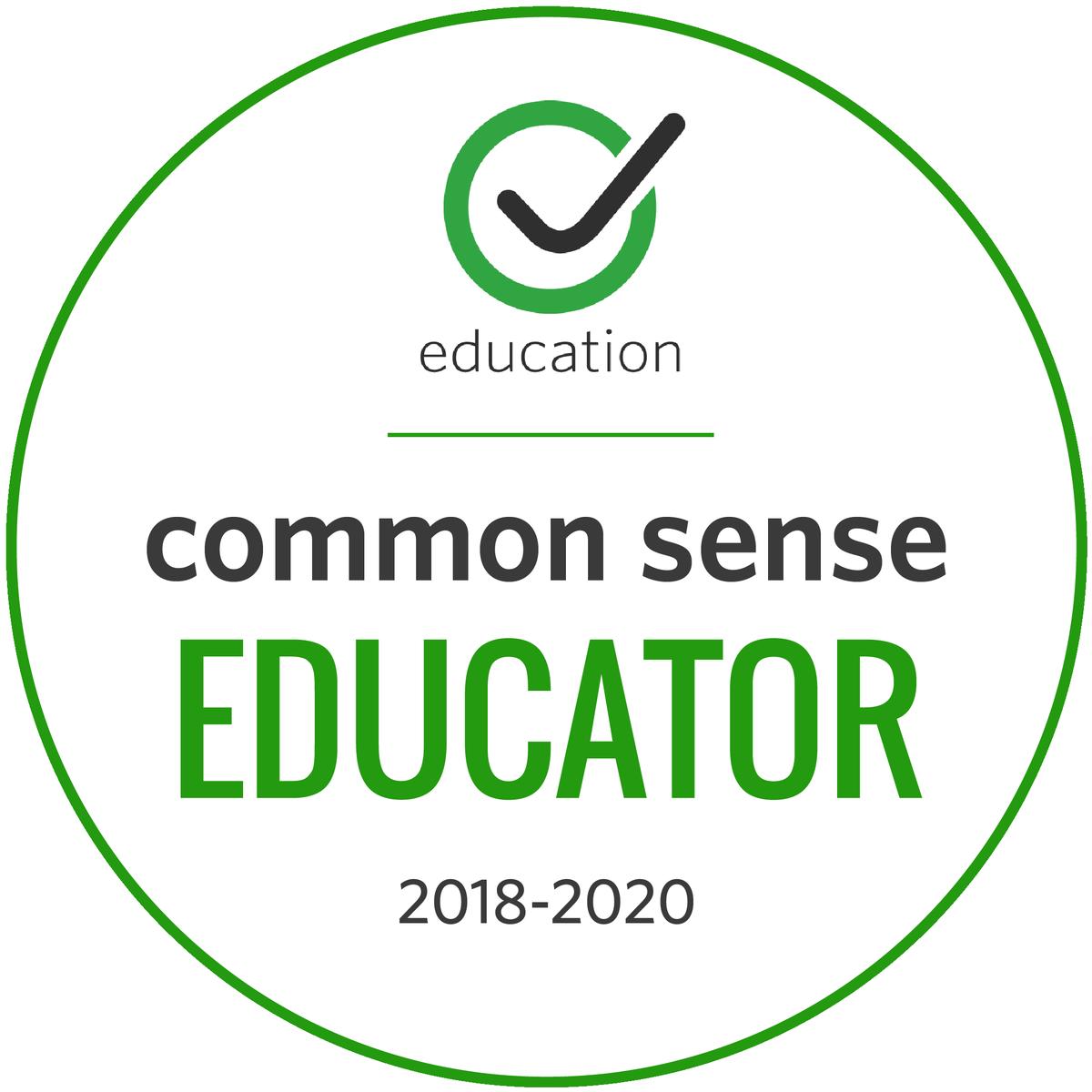 Proud Common Sense Educator #CSEducator