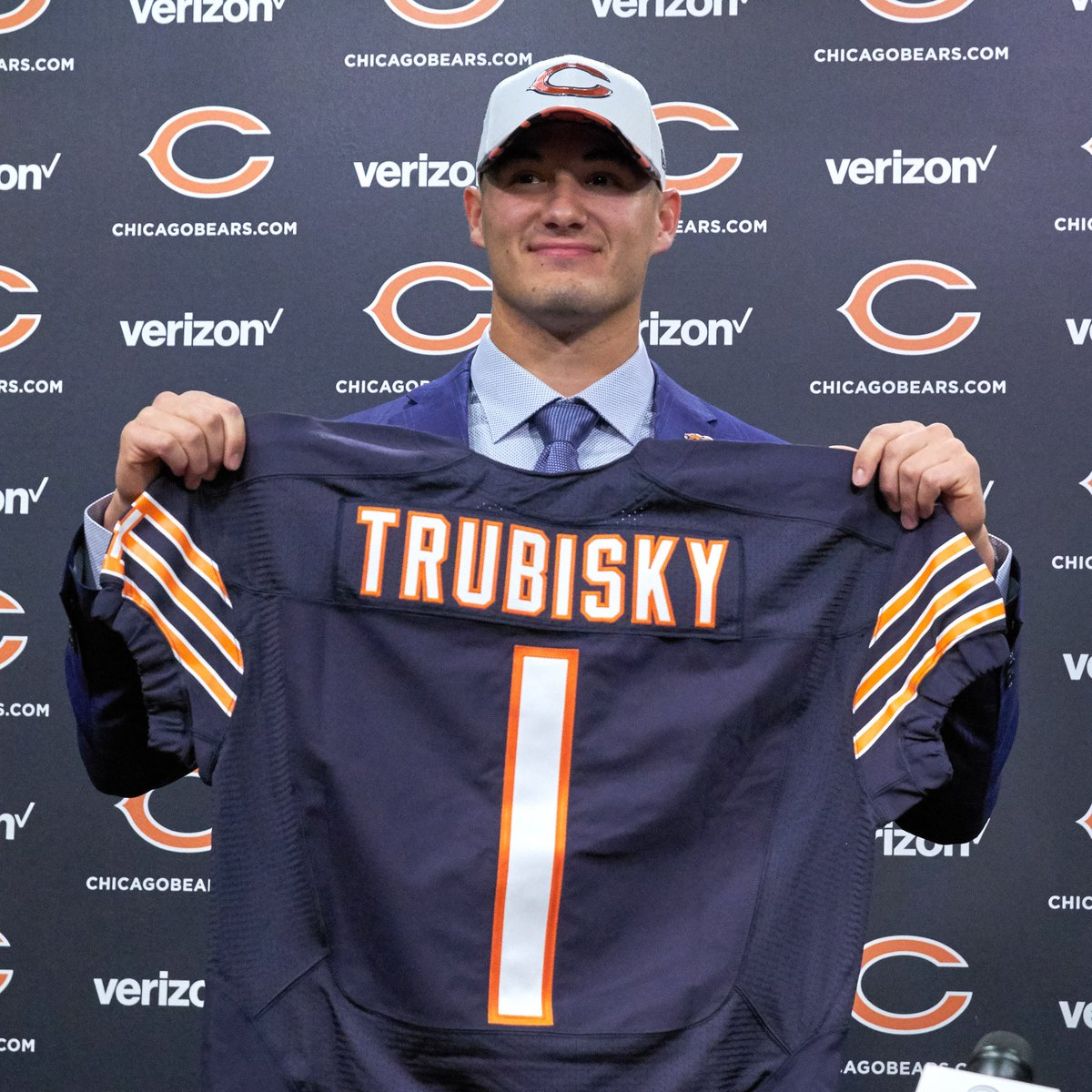 They grow up so fast 😅 Happy 25th birthday, @Mtrubisky10!