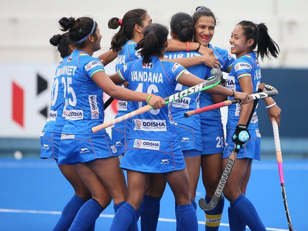 #Tokyo2020 Indian women's hockey team enters final of Olympic test event Report 👉http://toi.in/EnF54Z/a24gk