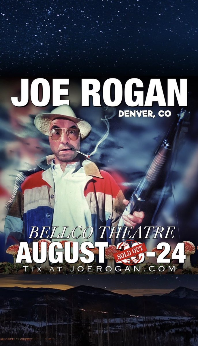 Denver! We're just a few days away... joerogan.net