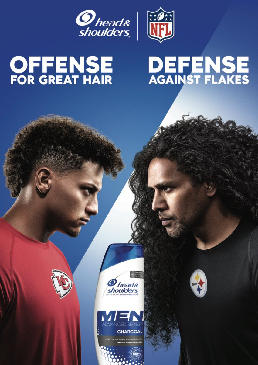 JUST IN: @PatrickMahomes has signed an endorsement deal with Head & Shoulders, joins longtime spokesman Troy Polamalu <br>http://pic.twitter.com/Fmniir967u