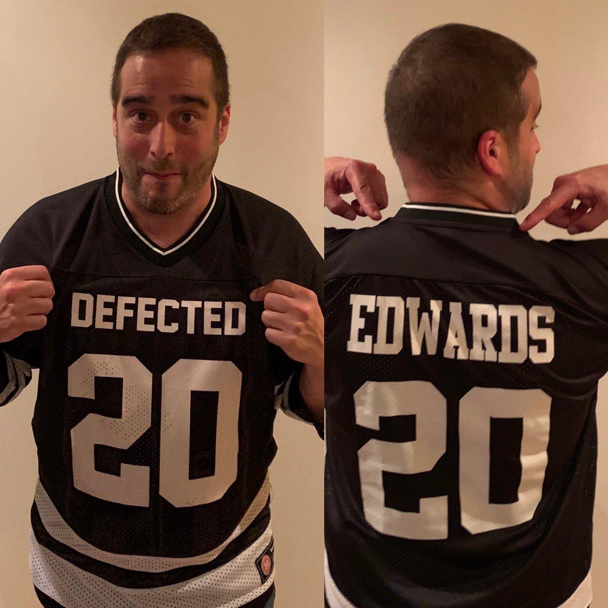 Much love to @DefectedRecords for sending me this personalised jersey, I love it! #defectedrecords #housemusic <br>http://pic.twitter.com/jzLfiN0dSQ