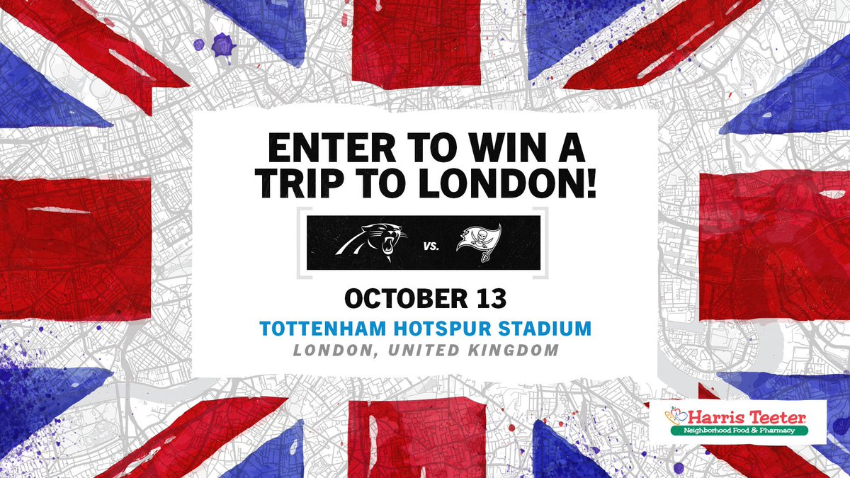 Now is your chance to win a trip to London! 🔗» panthers.com/fans/harris-te…