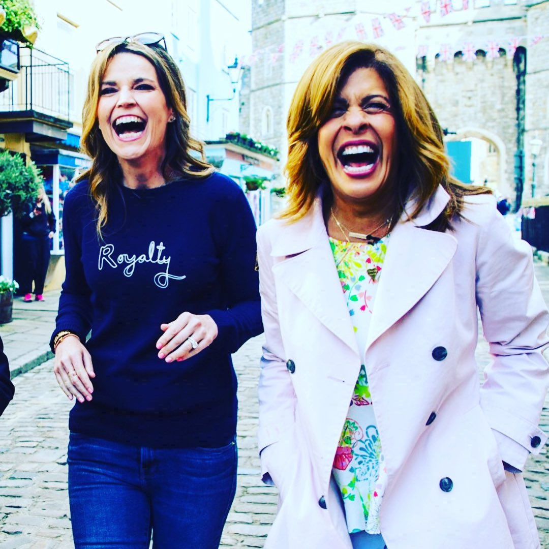 Reunited!!! So excited @hodakotb is coming home to @todayshow on Sept 3!! Counting the days ❤️❤️❤️