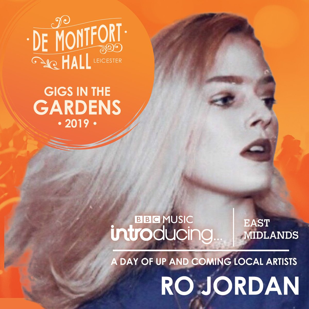 Combining pop, RnB and good old fashioned sass, Leicester singer songwriter @RoJordanMusic will be at @Gigsinthegarden this Saturday. See Ro and other local artists picked by @BBCintroEMids at @demontforthall . For tix > http://bit.ly/24Aug-BBCintro-DMH…  ...#Music#Leicester#Sunny