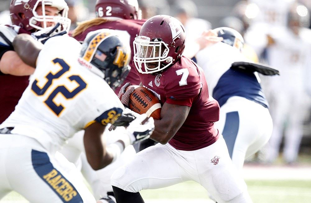 Longtime @OVCSports power @EKUFootball feels it can get back to the #FCS playoffs for first time since 2014. Here are five teams to keep an eye on: athlonsports.com/college-footba… Tyler Phillips/EKU Athletics Photo
