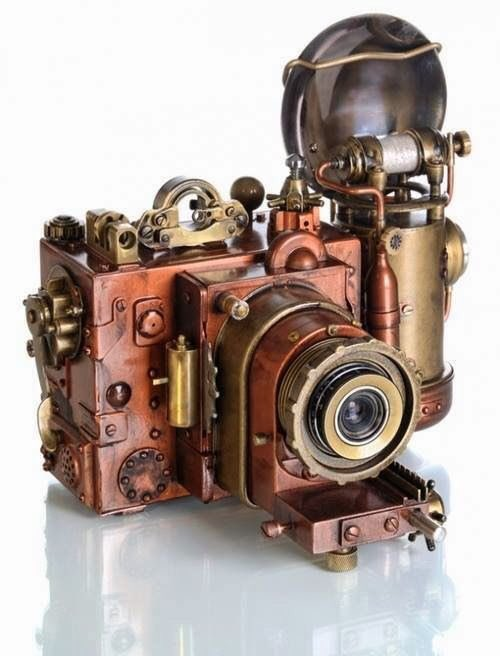 Steampunk Camera. No details sorry. There was a site but it was just a domain , no info.