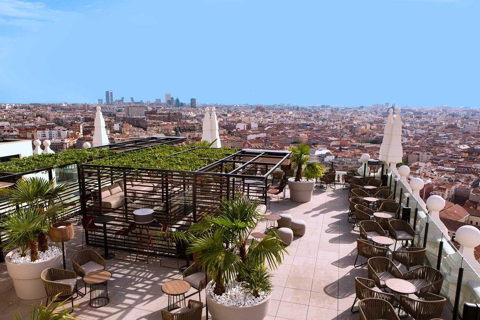 Madrid A Tus Pies La Terraza Con Las Mejores Vistas De La