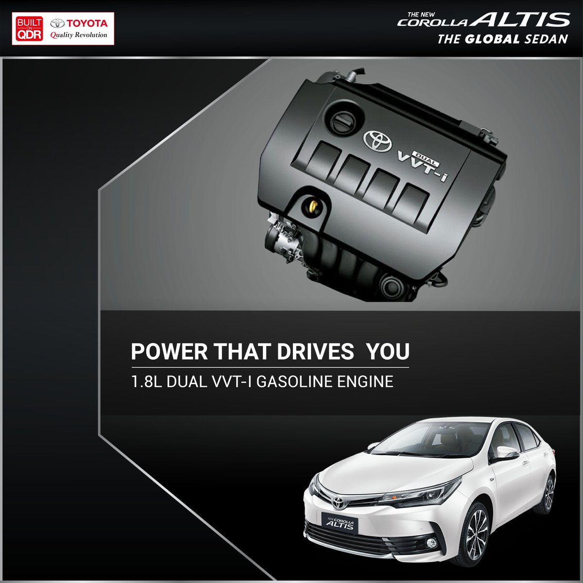 Experience the sedan that's secured the trust of the global elite, test-drive the Toyota Corolla Altis today.  Visit : https://t.co/TnBFElen8R for more.  #Toyota #CorollaAltis https://t.co/WtA9622ttp