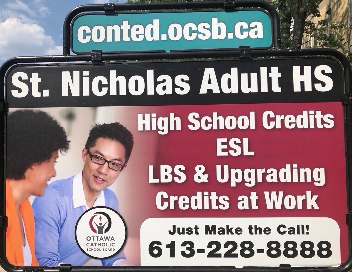 Register today and transform your life!  Complete your high school diploma at St. Nicholas Adult High School. Our registration office is open throughout the summer at 893 Admiral Avenue, Ottawa, Ontario.  Just make the call: 613-228-8888. #ocsb @OttCatholicSB #ocsbBeCommunity<br>http://pic.twitter.com/T39NcT9t60
