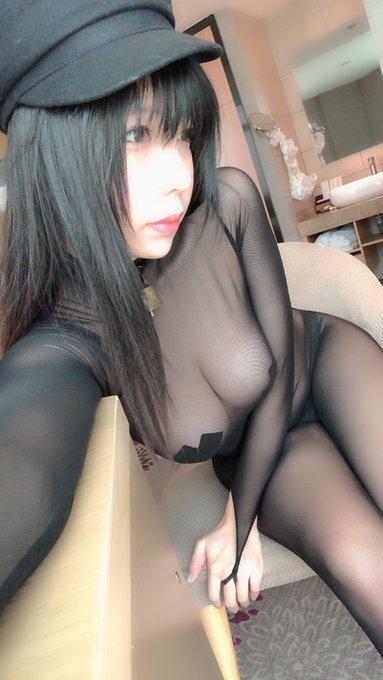 コスプレイヤー鹿野希のTwitter自撮りエロ画像7