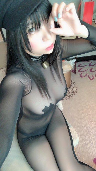 コスプレイヤー鹿野希のTwitter自撮りエロ画像8