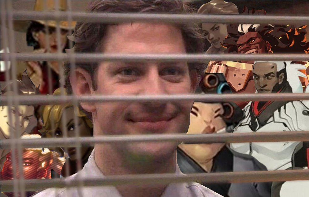 The Overwatch devs who had their groundbreaking and diverse character designs thrown out years ago now watching fans favour the designs over the Mercy clones and foot fetish stuff Activision Blizzard keeps pushing out: <br>http://pic.twitter.com/Eb7iVuXZGL