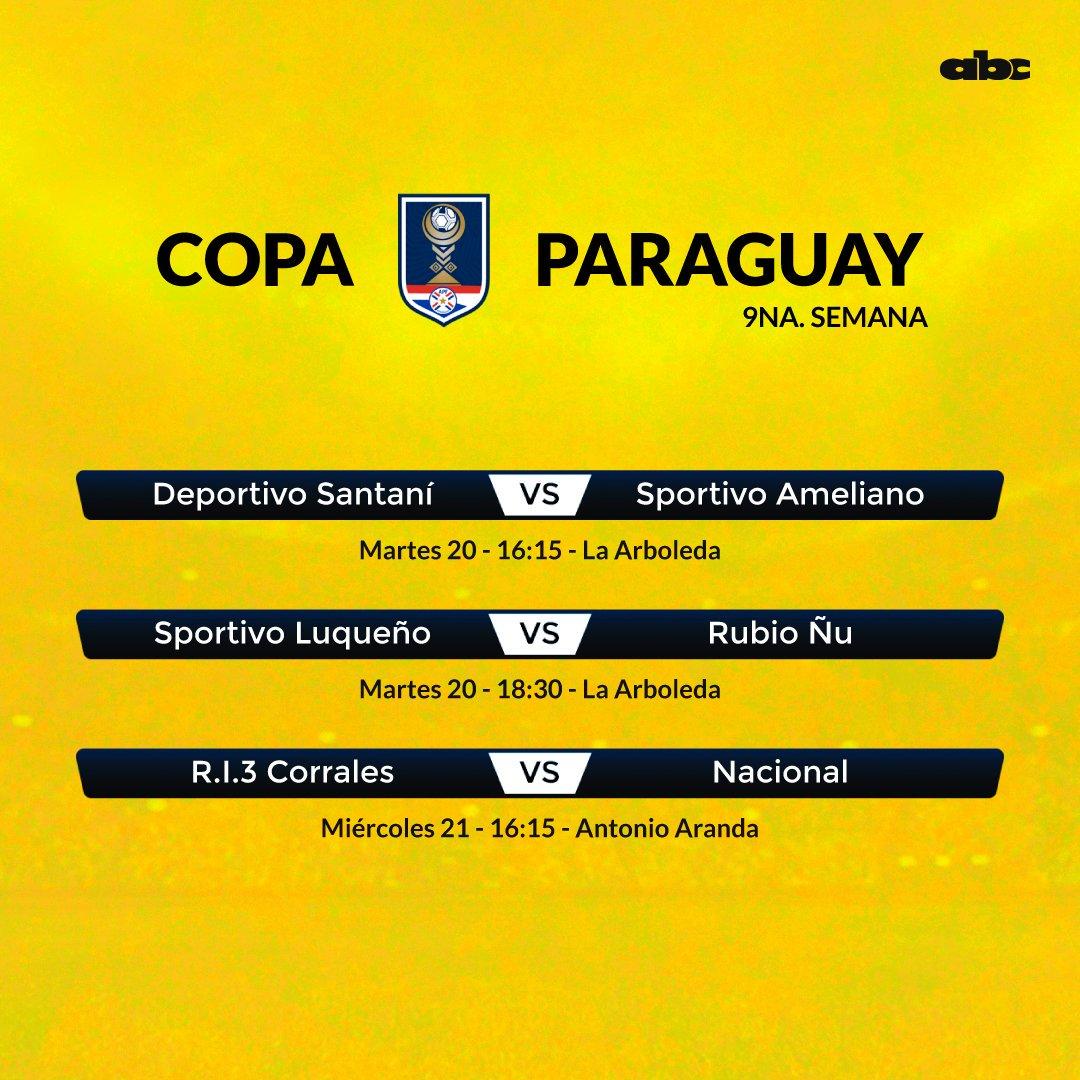 #CopaParaguay La novena semana de competición se abre hoy con un par de juegos en La Arboleda.⚽️🏆🇵🇾 🏟️Allí, dos equipos del ascenso desafían a otros dos equipos la máxima categoría. ¿Habrá sorpresas? 📲bit.ly/31NjVXe