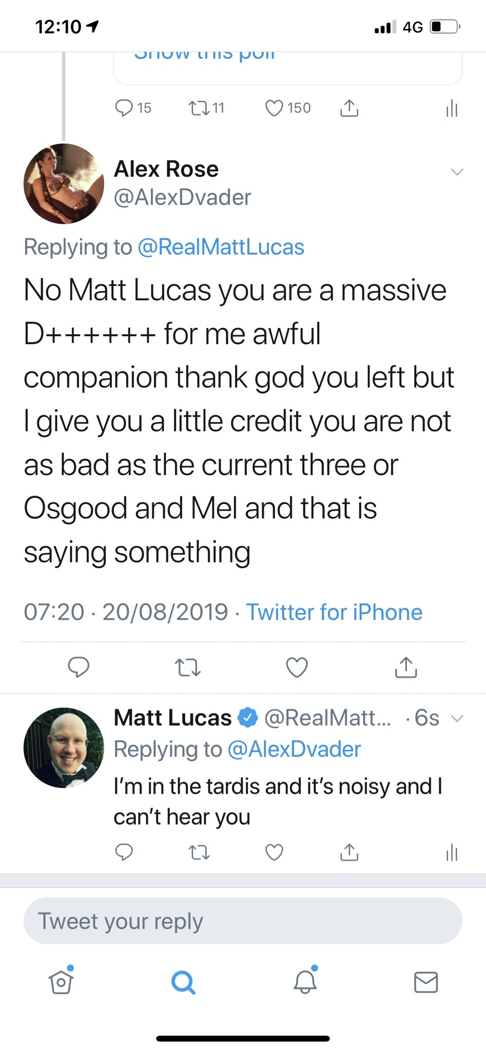 Real matt lucas twitter