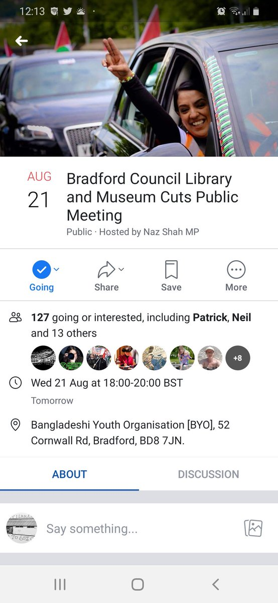 All welcome. #SaveOurLibraries #SaveOurGalleries #SaveOurMuseums #bradford2025<br>http://pic.twitter.com/DYGwjmBR0x