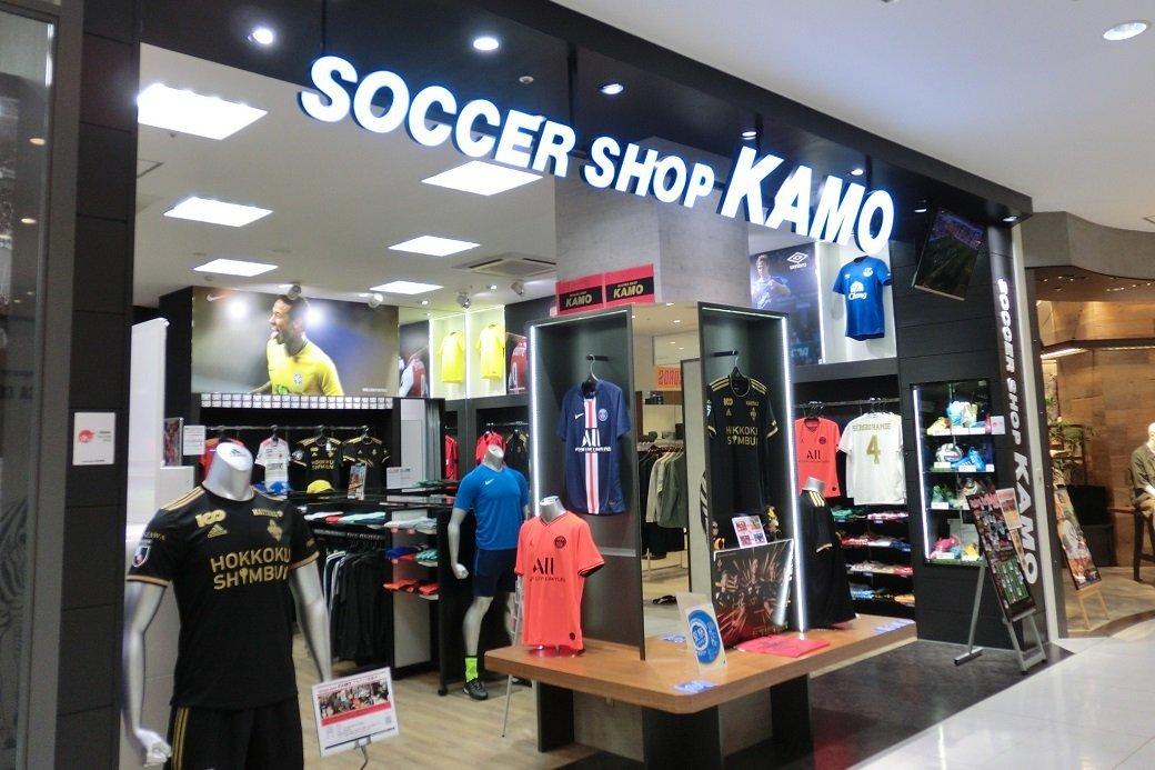 サッカーショップ  レポート『KAMO 金沢フォーラス店』店内の様子、スパイクのラインナップ、ディスプレイなど詳細レポ!