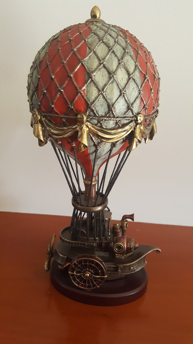 @HWarlow I have a steampunk balloon!