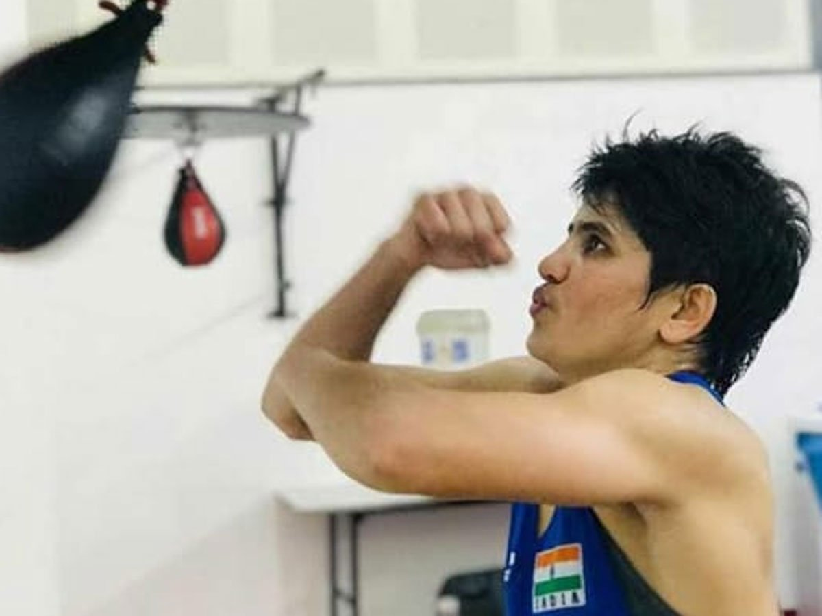 #arjunaawards #boxing There will be more responsibility now after #ArjunaAward, says boxer Sonia Lather INTERVIEW 👉http://toi.in/vyo4Ka12/a24gk