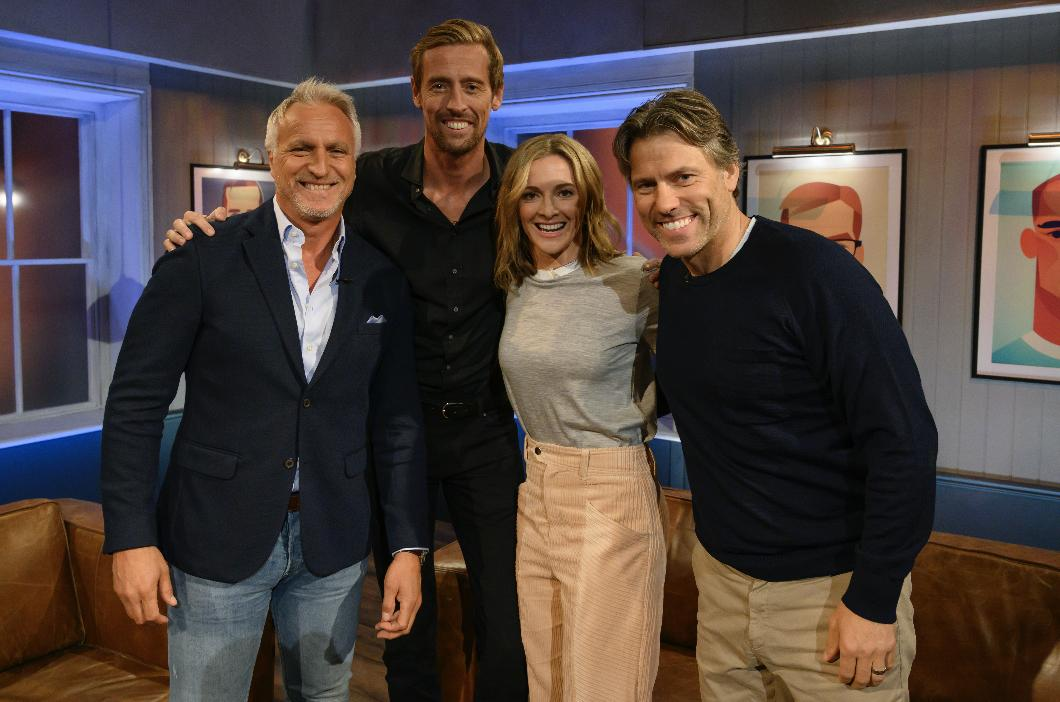 On tonights #BackoftheNet on @primevideouk, hosts @GabbyLogan, @petercrouch and @JohnBishop100 look back on the weekend of #PremierLeague football alongside pundit and retired footballer #DavidGinola, who reveals his desire to return to football to manage #NewcastleUnited...