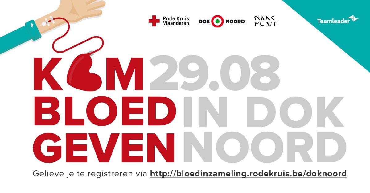 Levens redden tijdens je pauze? Het kan! Volgende week donderdag komt @RodeKruisVL naar @DokNoord voor een bloedinzameling. Kom jij ook langs? Inschrijven doe je via https://t.co/0rjeZGNu00 https://t.co/fkFUqRyXIx