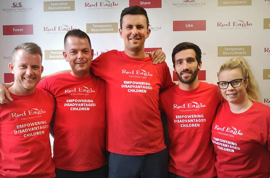The Famous Five run for charity https://t.co/5wGe9NZvVs