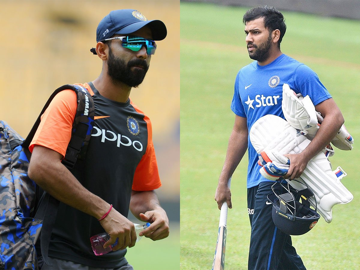 #IndvsWI #wivsind #1stTest@imVkohli's dilemma: @ajinkyarahane88 and @ImRo45 or a fifth bowler? Read 👉http://toi.in/vF-Caa66/a24gk