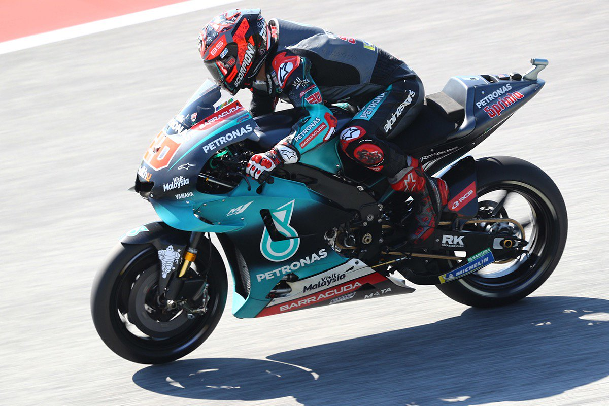 📰 Quartararo and Morbidelli seeking success at Silverstone ➡️ bit.ly/2KZ4lkJ #PETRONASmotorsports #BritishGP #MotoGP