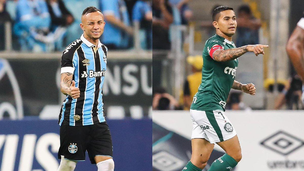 HOJE É DIA DE LIBERTADORES! E o Futmais quer saber, quem leva a melhor no confronto em Porto Alegre? Grêmio ou Palmeiras?