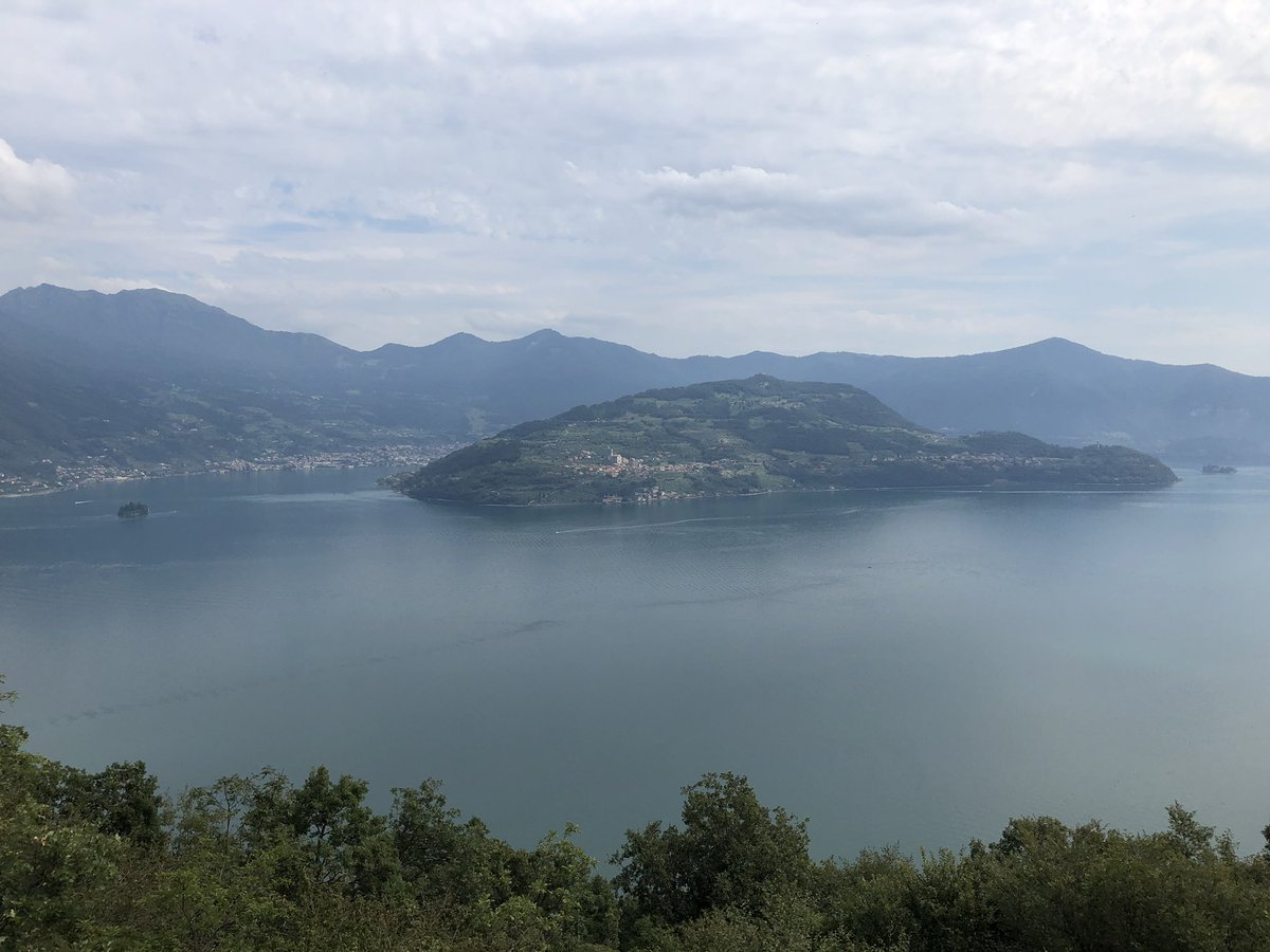 An apartment with a view. #Italy #ItalianLakes #MayNotComeBack