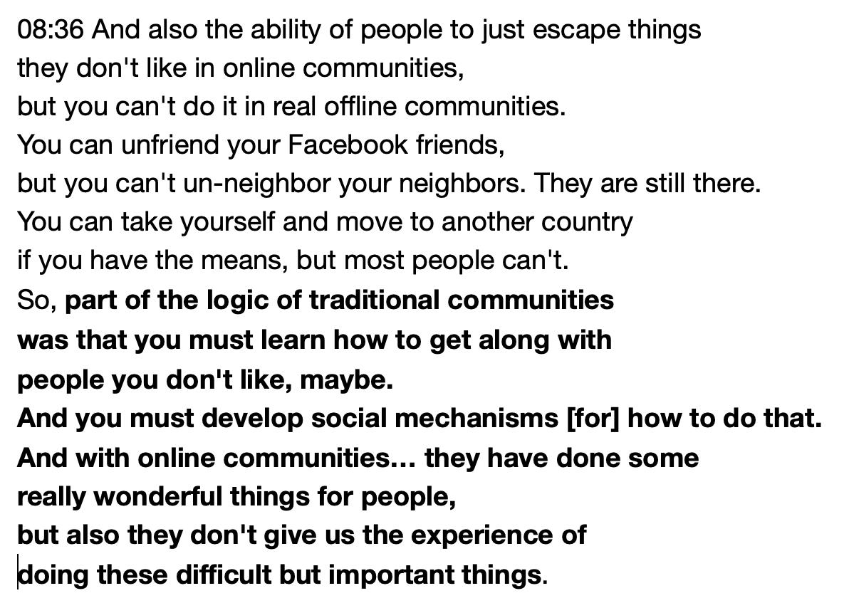 How social media may block the learning of a skill essential for democratic citizenship: learning to get along with people you don't like. ECah3enWsAE6X1g?format=jpg&name=medium