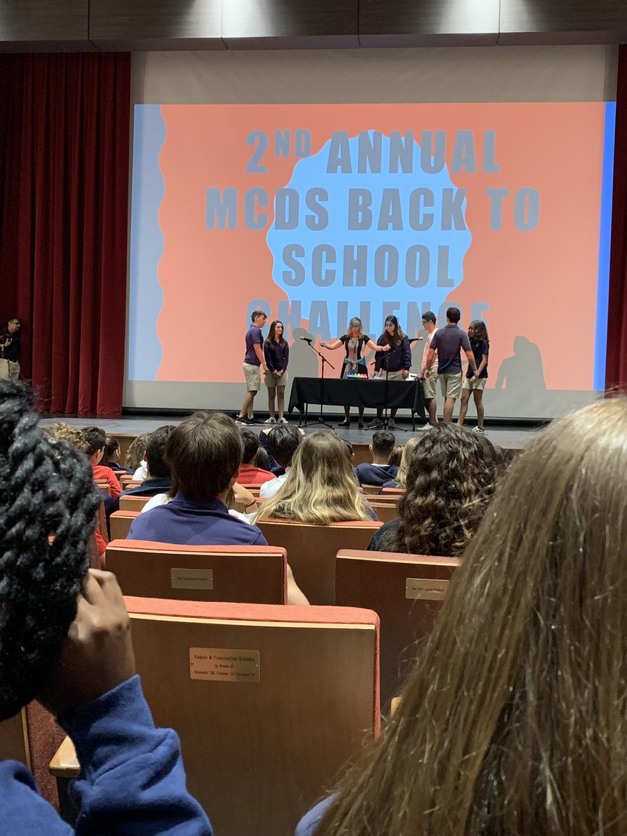 Spirited assembly must include an inter- class trivia competition @CDUpperSchool @OfficialMCDS