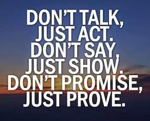 Don't talk, just act. Don't say, just show. Don't promise, just prove. #motivation #motivational #motivationalquotes #inspiration #inspirational #dataZenEngineering #hardwork #workhard #Thursdaymotivation #quoteoftheday<br>http://pic.twitter.com/o1yNrvMZKU