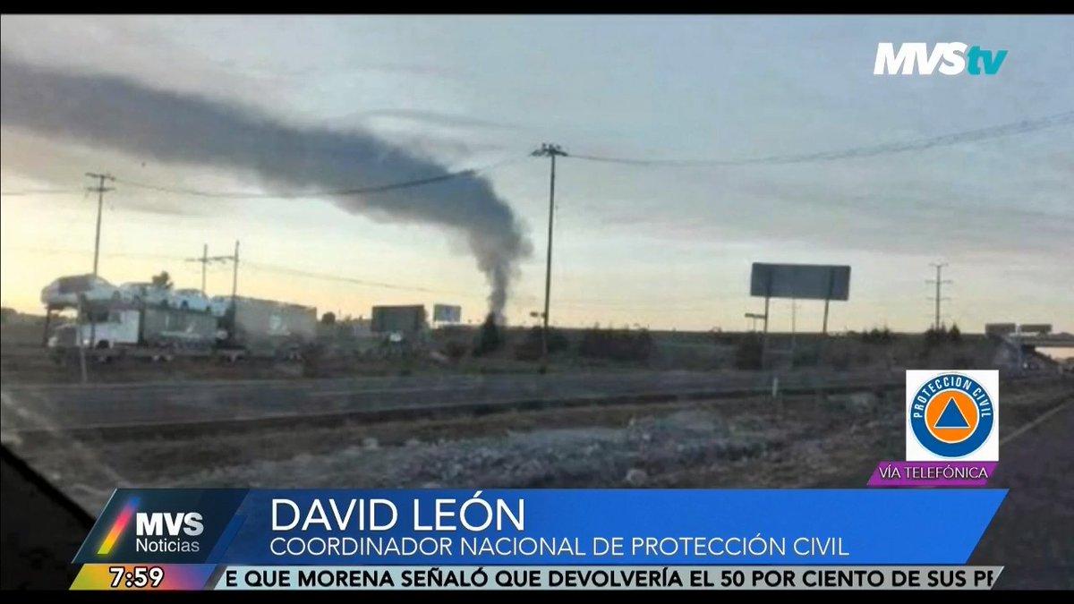 #EntrevistaMVS | #AlAire por el 102.5 FM, @MVStvOficial, http://noticiasmvs.com y @dailymotionLat: David León (@DavidLeonRomero), Coordinador Nacional de Protección Civil (@CNPC_MX), habla en #LaPrimeradeMVS sobre la fuga de gas registrada en #Puebla.