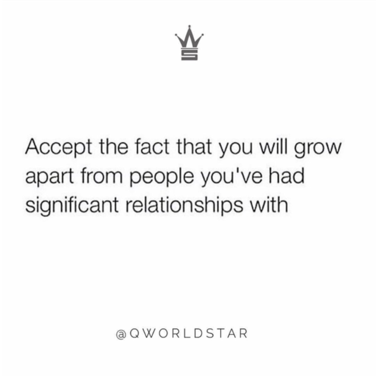 """""""Not everyone will stay in your life...some come to teach you lessons...""""   @QWorldstar #PositiveVibes <br>http://pic.twitter.com/cYeaGikG20"""