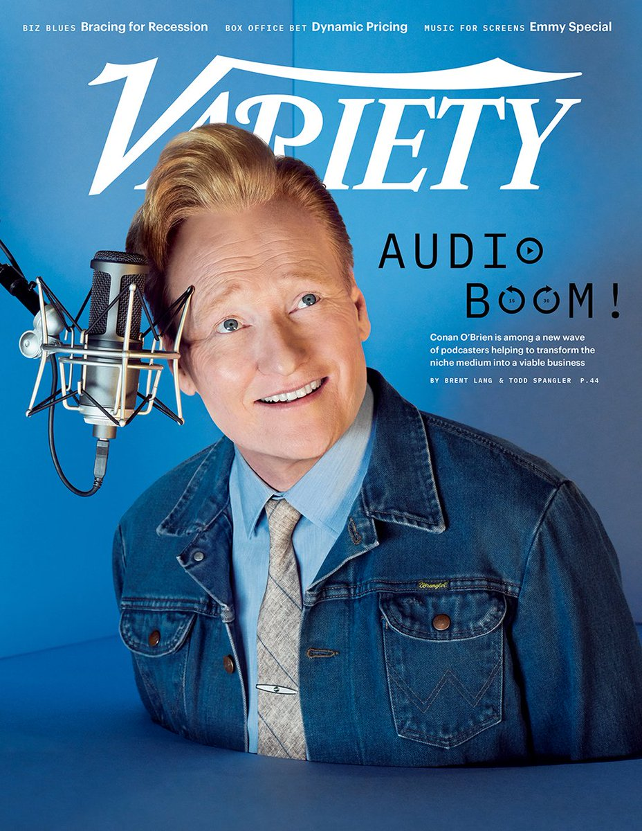 COVER STORY: How Conan O'Brien and other top hosts are driving the podcast revolution http://bit.ly/2P1hv5R
