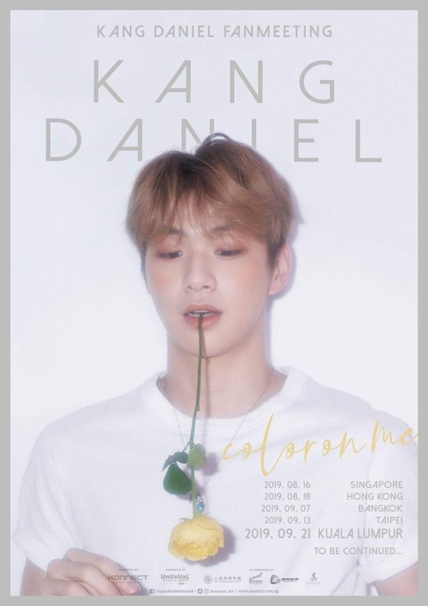 [Provide Ticketing Service]  KANG DANIEL FANMEETING: COLOR ON ME IN KL 21/9/19, SAT  RM30 Service charge LIMITED SLOTS Experienced Trusted Check  twt  DM for more info  #KangDaniel #강다니엘 #ColorOnMe #KangDanielinKL #KangDanielinMY #ColorOnMeinKL #ColorOnMeinMY<br>http://pic.twitter.com/qrgRj77DTM