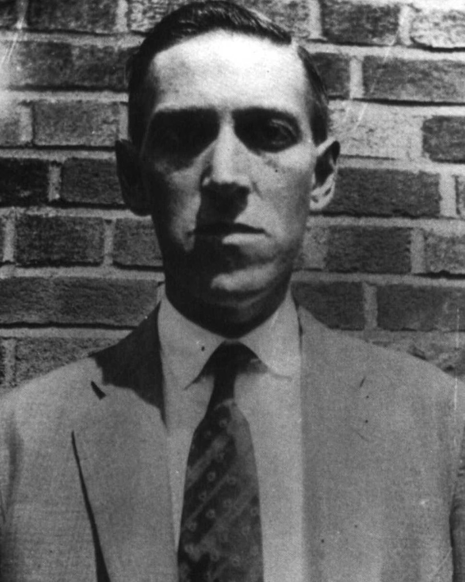 Born today in 1890 H.P. Lovecraft . . #hplovecraft
