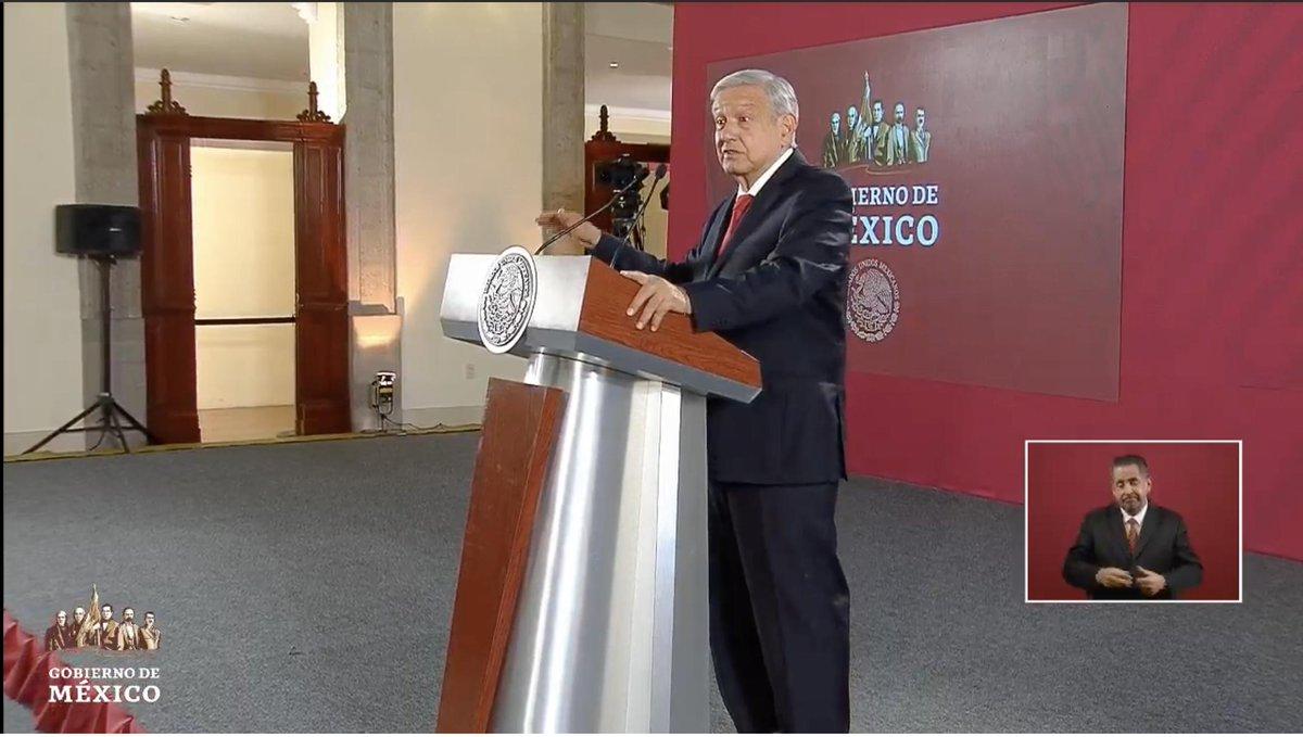 """López Obrador reitera que hay ámbitos de su gobierno que van muy bien, como la seguridad, el empleo, la inflación. Pero admite que no se ha podido bajar la incidencia delictiva. """"Ese es el reto, todos los días estamos atendiendo el asunto""""EN VIVO: http://bit.ly/2NekUMa"""