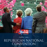 #OnThisDayinHistory the #RNC was held in Texas for the first time in Dallas in 1984. Ronald Reagan & George H.W. Bush were once again nominated as candidates & went on to win the election by a landslide—winning 49 of the 50 states. #GOP #txlege