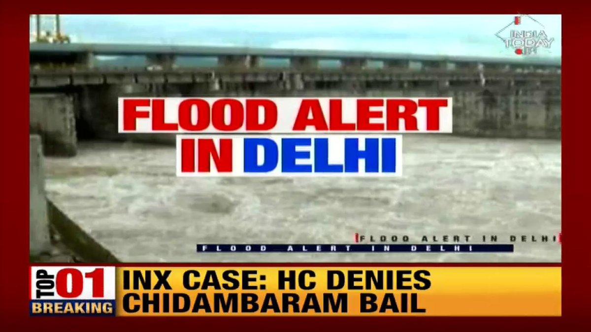 Delhi: Yamuna crosses danger markWatch this report by @Isha_Gupta409#ITVideoLive: http://bit.ly/IT_LiveTV