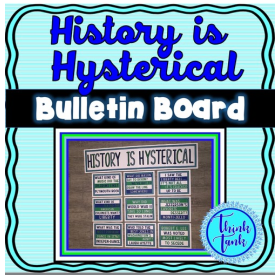 Cool Bulletin board ideas for US, World, Science and Math all 25% off today only. ampeduplearning.com/search.php?sea…