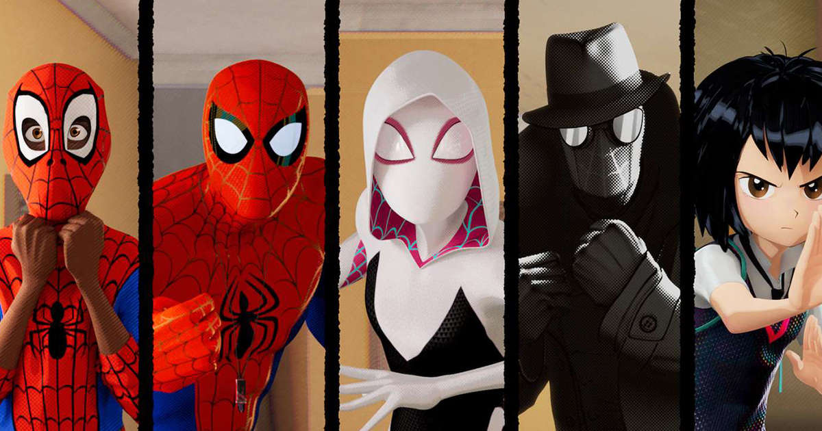 The battle in Aunt May's house in Spider-verse began with warmer illumination from interior practical lights, and then evolved into a darker, more naturally lit interior through exterior light. Thank you @ZacDRetz for that inspirational painting! #SpiderVerse #IntoTheSpiderVerse<br>http://pic.twitter.com/oiYFMQbSIp