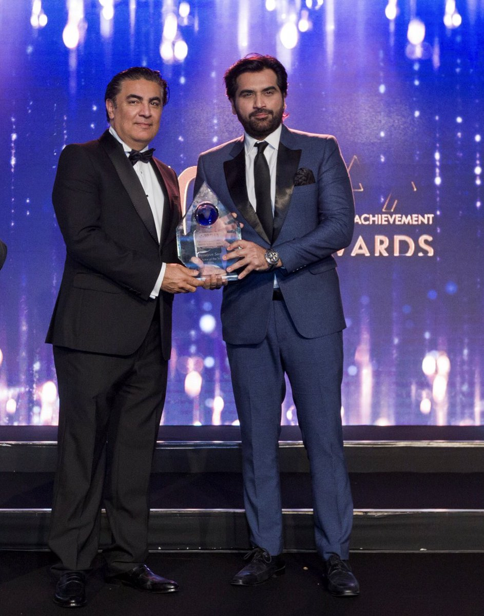 Pak's highest grossing film ever JPNA2 recognised at Pakistan Achievement Awards in London. Humbled to receive Best Actor and Best Film. Thank u team PAA & @arydigitalasia for a wonderfully organised event & team NJ for your hard work! #10thPAA2019 #PAA #10thPAA #SamaraEventsUK