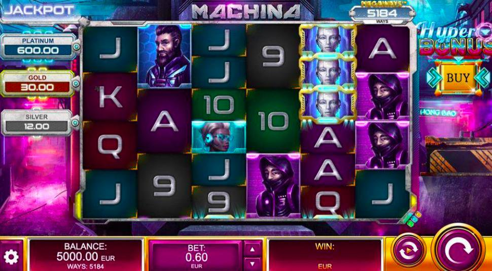 🤖 Play Machina in our casino tonight! Spin it here 👉 come0n.co/machina