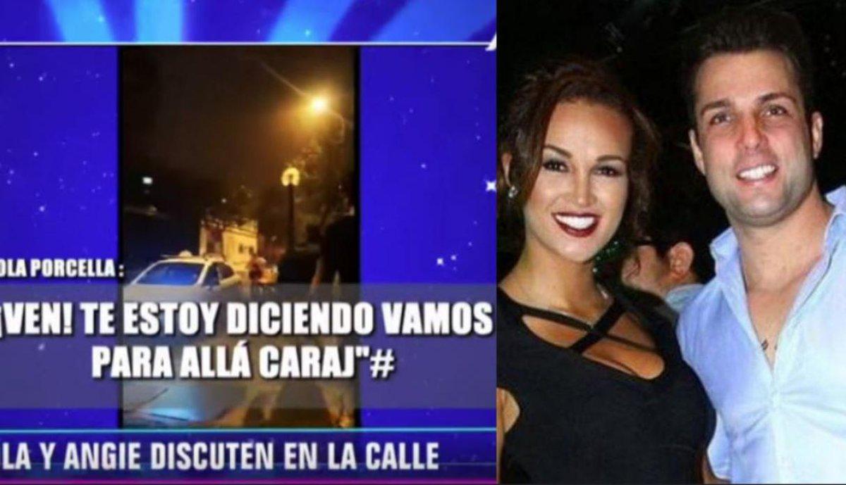 Angie Arizaga negó agresiones verbales de Nicola Porcella pese a revelador video https://t.co/ySvDNmzIM3 https://t.co/SjcDJQuXVM
