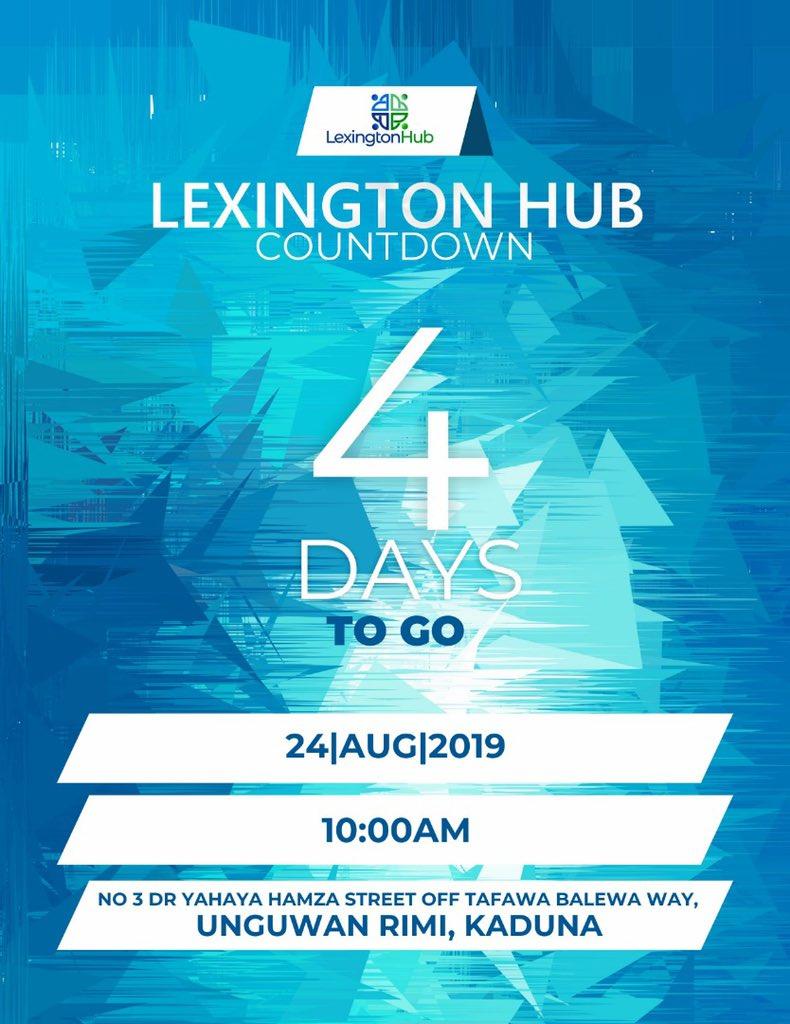 It is happening on Saturday @Lexington_Hub's Open Day #LexingtonHubLaunch   Don't Miss Out...<br>http://pic.twitter.com/5XLSbuyZQ7
