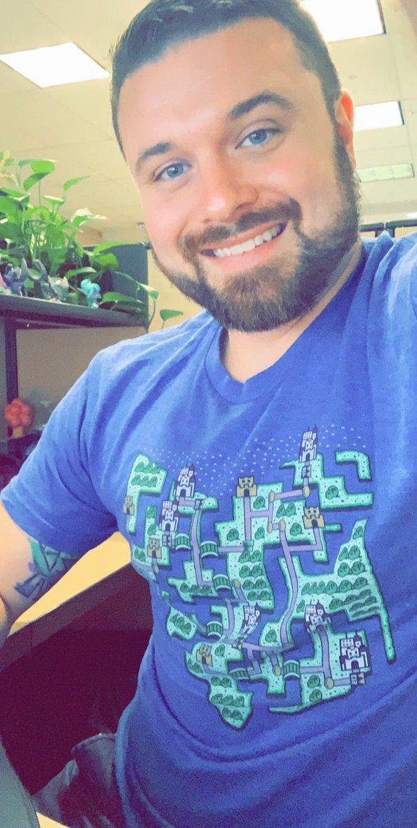 Wearing my Super Mario Bros Ohio shirt today. Feeling geeky #GeekyThingsAboutMe #Nintendo #gaymer