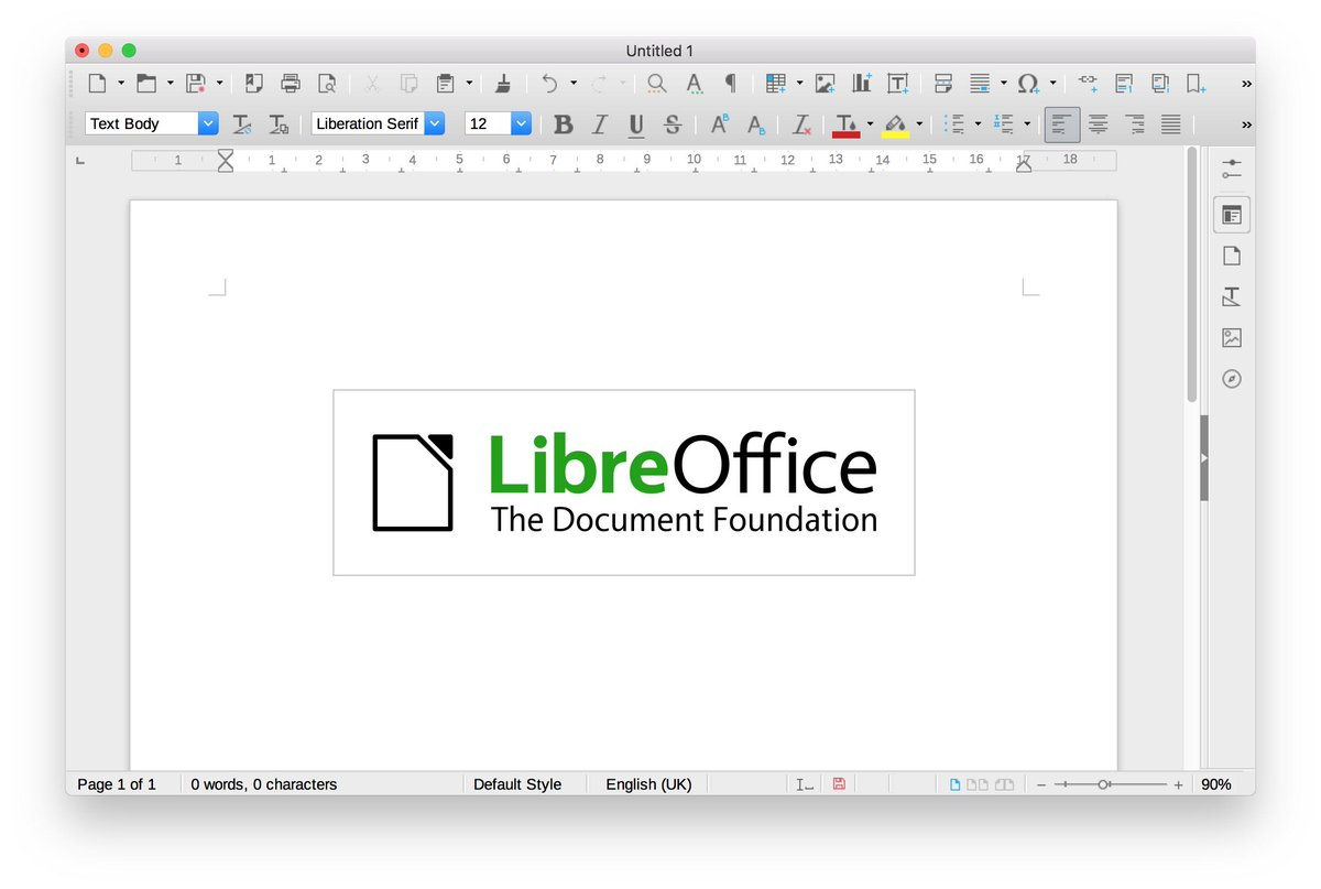 libreoffice hashtag on Twitter