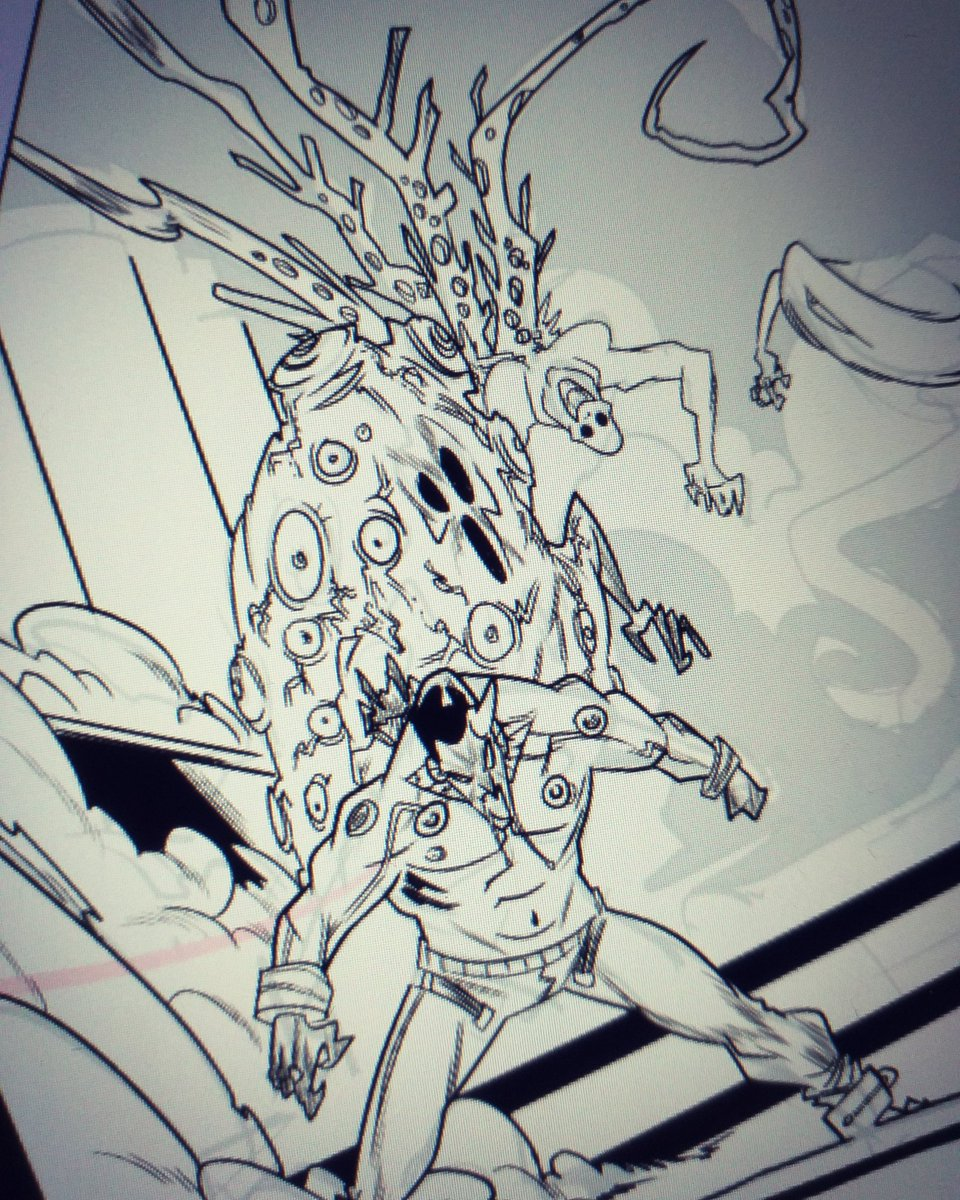 I guess Im drawing horror stuffs now!  #horror #horrorart #creatures #horrorcomics #makecomics #makeindiecomics #sequentialart #artistsoninstagram #ArtistOnTwitter #ComicArt #CLIPSTUDIOPAINT #comicbooks #IndieWorld #indiecomics #storytelling #scifiart #scifi #SciFiUndead<br>http://pic.twitter.com/37oyLNZ8lS